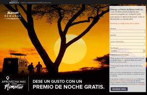 Marriott Bonvoy: 2 estancias pagadas, una noche gratis (para nuevos socios)