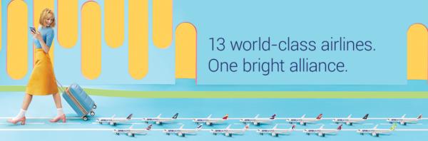 oneworld celebra su 20 aniversario.