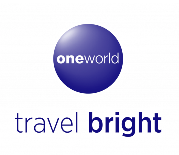 oneworld, travel bright.