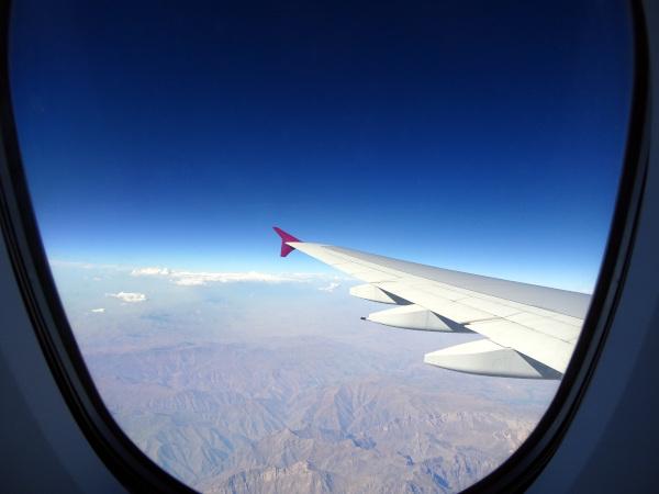 Sobrevolando Irán.