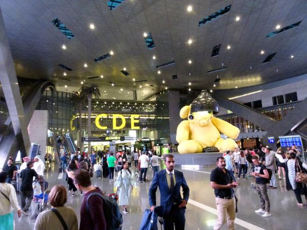 Terminal del aeropuerto Internacional de Hamad, Doha.