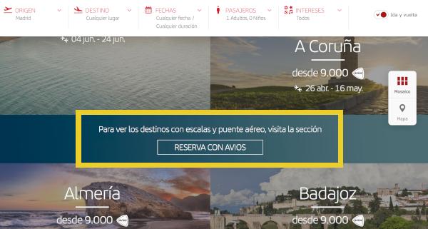 Cómo reservar un vuelo con Avios en Iberia Plus #6.