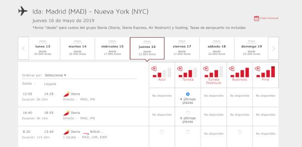 Cómo reservar un vuelo con Avios en Iberia Plus #8.