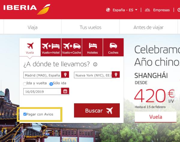Cómo reservar un vuelo con Avios en Iberia Plus #3.