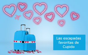 Ofertas San Valentín: Vuelingtin 12.99€, KLM 30€ descuento, NH Hoteles upgrade gratuito, Renfe 2×1 y más