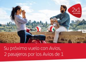 2×1 Reservas con Avios Iberia Plus Europa y Africa, 20% extra conversión Amex MR a Iberia Plus