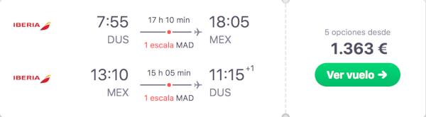 Ciudad de México en Business de Iberia.
