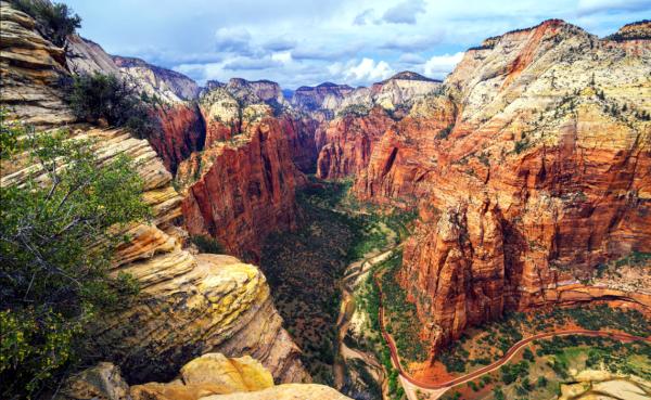 Parque Nacional de Zion en Utah.