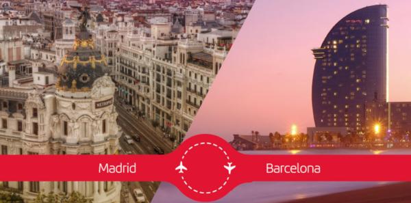 Iberia mejora y encarece el Puente Aéreo con Avios.