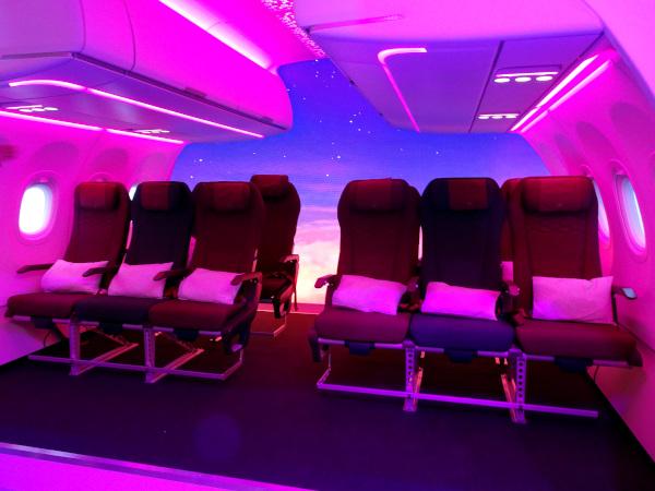 Nueva Butaca Turista de Qatar Airways.