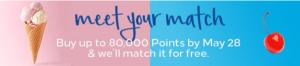 Excelente! Compra puntos Hilton Honors con un 100% extra