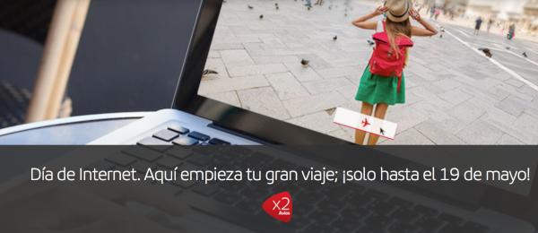 Iberia Dia de Internet: ofertas + x2 Avios