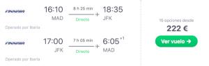 Iberia Express incorpora el Airbus A321neo, Nueva York por 220 EUR i/v con Iberia