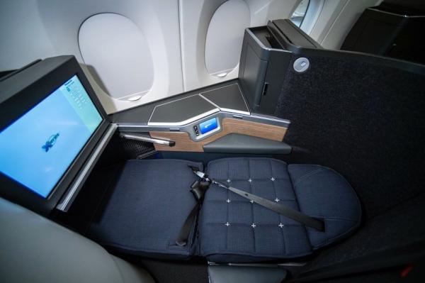 Butaca Club Suite, A350 de British Airways.