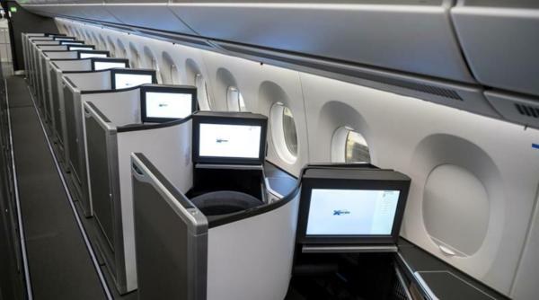 Club Suite, A350 de British Airways.