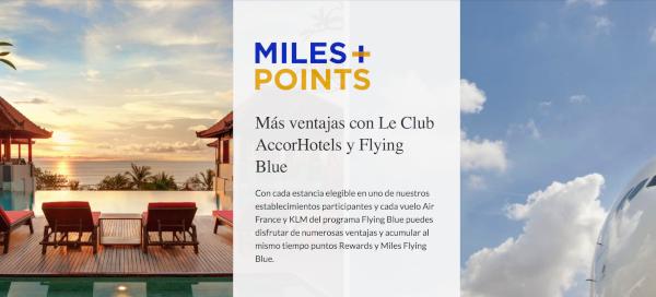 GENIAL: nueva colaboración entre Flying Blue y Le Club AccorHotels.