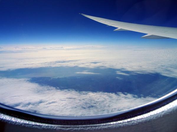Islas Shetland, desde el Dreamliner 787 de Air Canada.