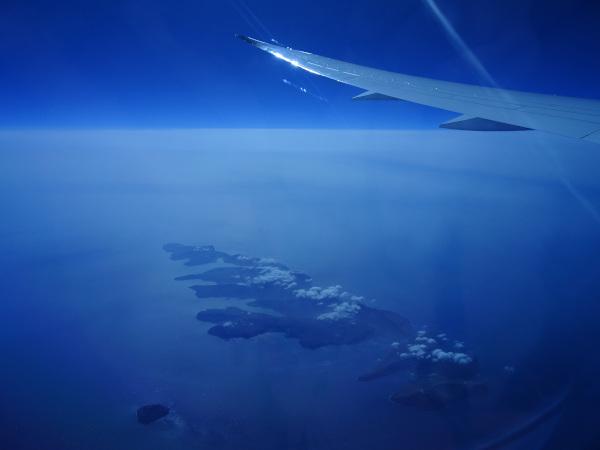 Islas Faroe, Air Canada 787.