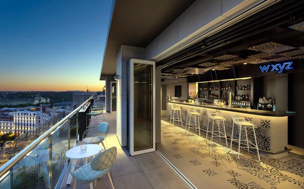 Aloft Madrid Gran Vía: Wxyz bar.
