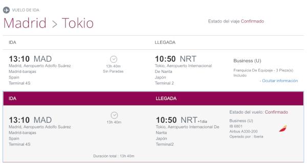 ¿Cómo sé si mi vuelo está operado por el A350?