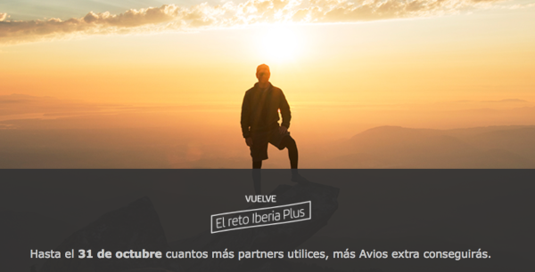 Vuelve el Reto de Iberia Plus 2019: utiliza partners y recibe hasta 5.000 Avios.
