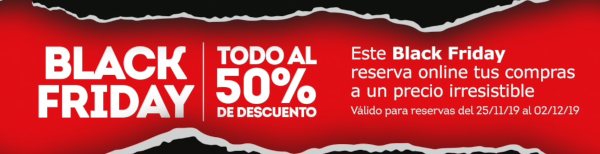 Black Friday de World DutyFree (RED by DuFry).