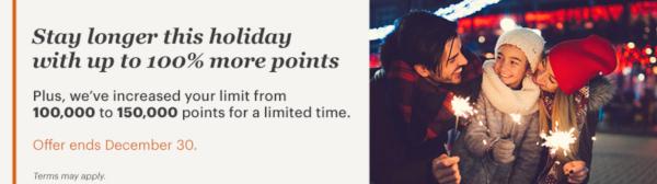 OTRA VEZ! Compra puntos IHG Rewards Club con un 100% adicional.