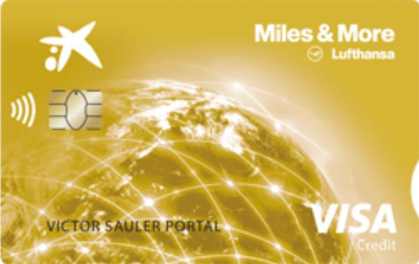 Doble millas con la Visa Miles&More.