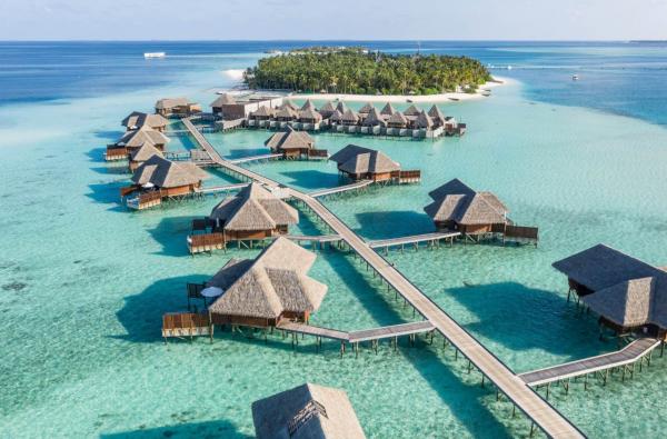 Conrad Rangali Island, en las islas Maldivas, por 95.000 puntos la noche.