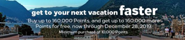 Compra puntos Hilton Honors con un 100% extra.