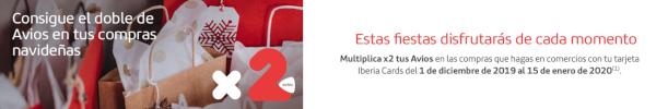 DOBE Avios Iberia ICON hasta el 15 de enero.