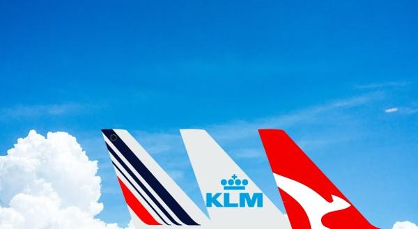 Qantas y Air France - KLM anuncian nuevos acuerdos para sus viajeros frecuentes.