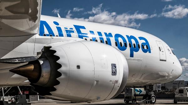 Un Dreamliner 787 de Air Europa.