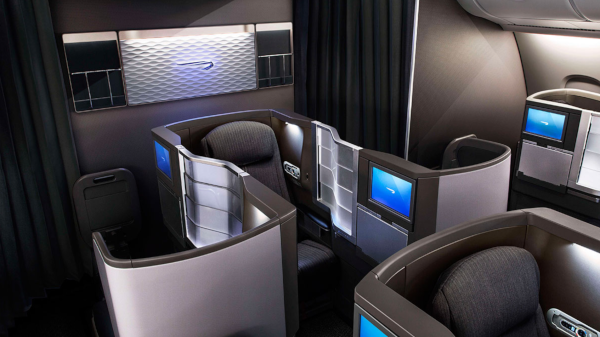Club World de British Airways.
