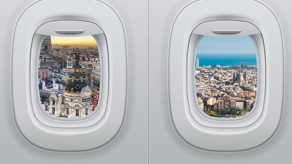 Iberia responde a AVLO con vuelos Madrid - Barcelona por 19€ (solo hoy!)