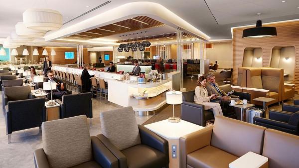 Sala VIP Flaship de American Airlines.