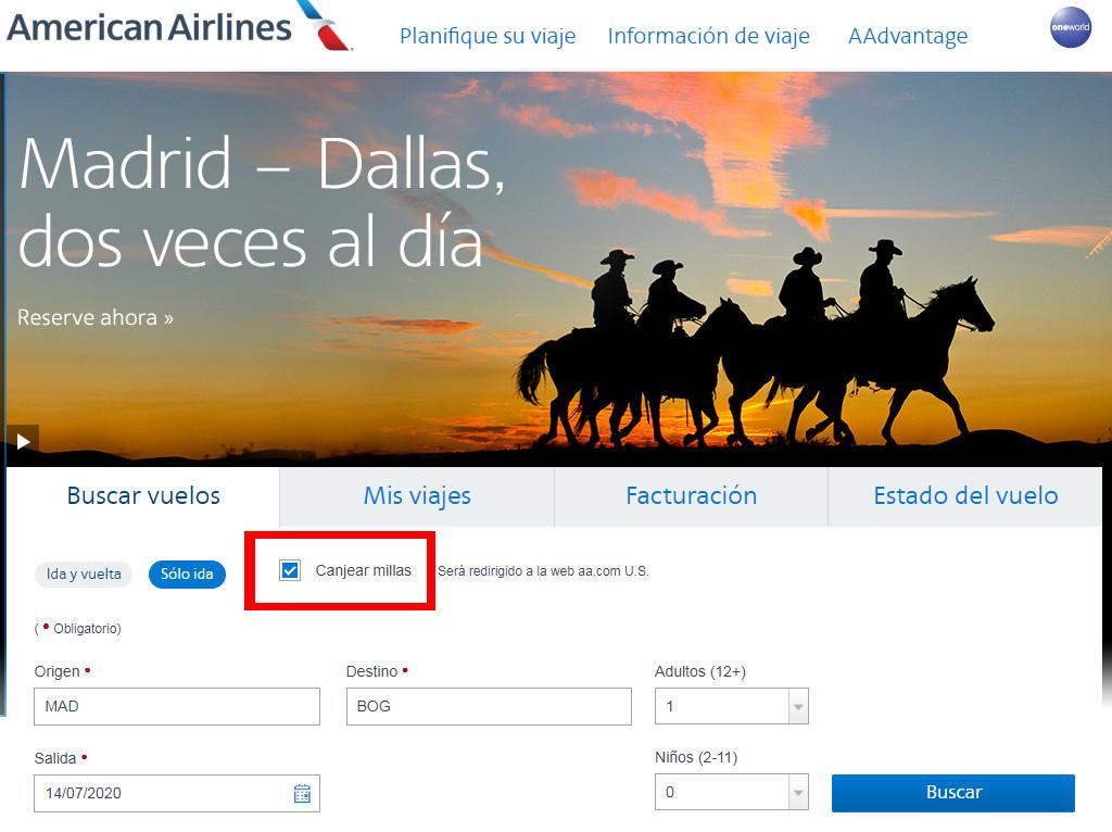 Cómo buscar de forma rápida disponibilidad de plazas con Avios.