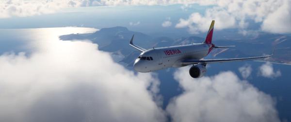 Imágenes de Microsoft Flight Simulator.