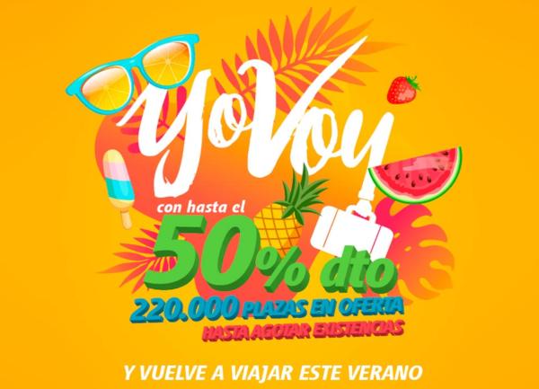 """YoVoy verano. Vuelve a viajar"" tarifas promo AVE."