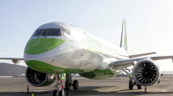 Embraer 195-E2 de Binter Canarias.