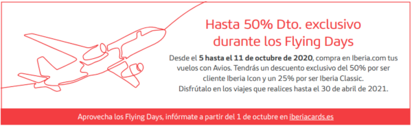 Flying Days de Iberia Cards.