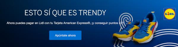 TRIPLE puntos Amex en LIDL España.