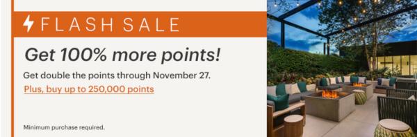 Compra puntos IHG con un 100% extra.
