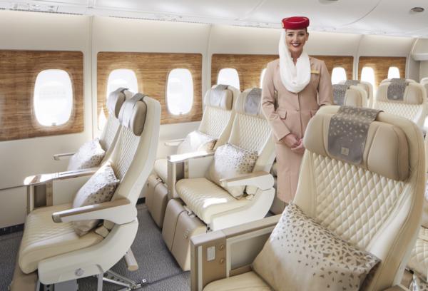 Emirates presenta la clase Turista Premium.