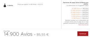 50% descuento en Avios en rutas de Iberia, Iberia Express y Air Nostrum… incluyendo BUSINESS