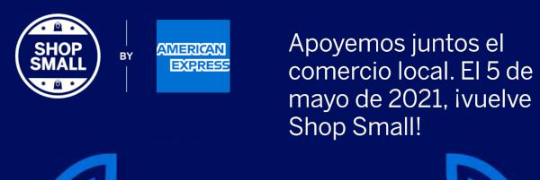 Shop Small de American Express España edición 2021.