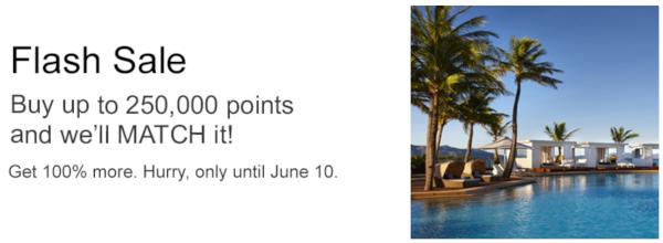 Compra puntos IHG Rewards con un 100% extra.