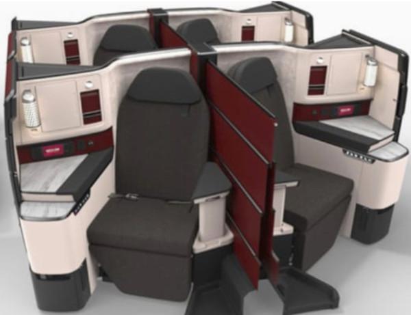 Nueva Business Suite Class de Qatar Airways.