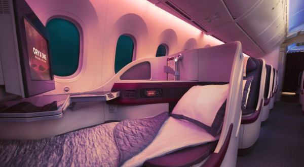 Business de Qatar Airways.